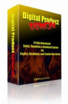 Product picture Digital Product Demon - Fully Automated Sales System