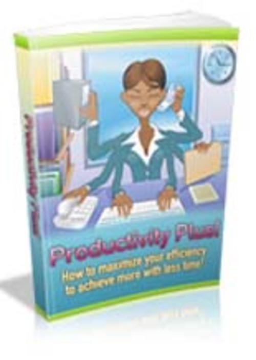 Product picture Productivity Plus